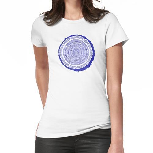 Douglasie - Navy Frauen T-Shirt