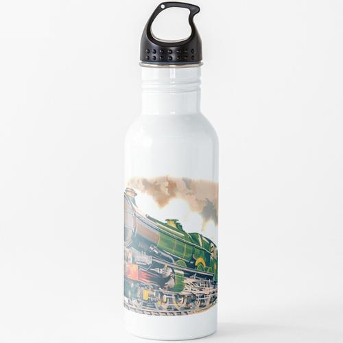DAMPFZUG, EISENBAHN, EISENBAHN, Dampf. Wasserflasche