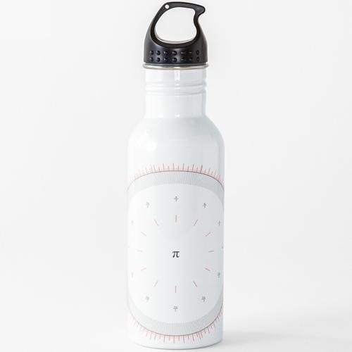 Radians Vs Degrees Clock - v001 Wasserflasche