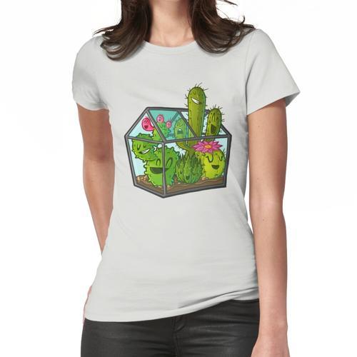 Kakteengewächshaus Frauen T-Shirt