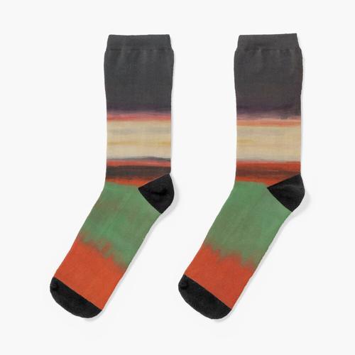 Mark Rothko | Magenta Socken