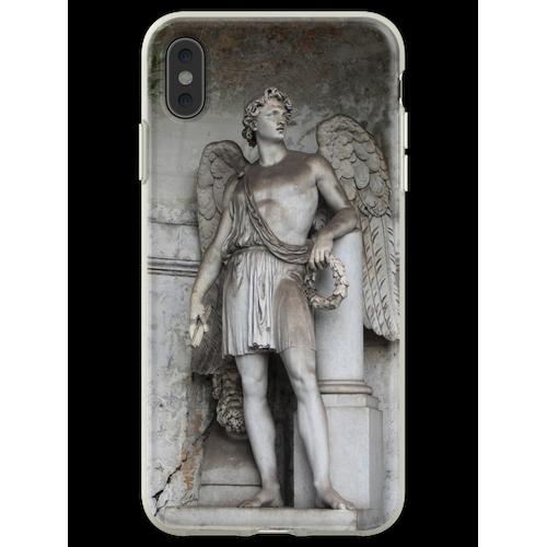 Römische Skulptur Flexible Hülle für iPhone XS Max