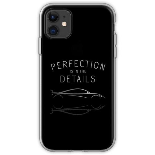 Perfektion steckt im Detail Autopflege Flexible Hülle für iPhone 11