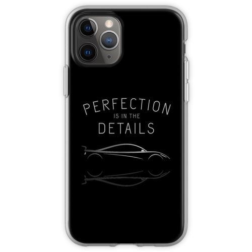 Perfektion steckt im Detail Autopflege Flexible Hülle für iPhone 11 Pro
