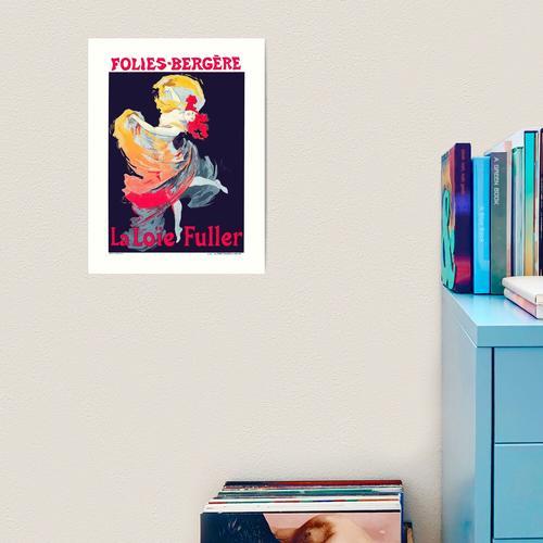 Folies Bergere Poster Kunstdruck