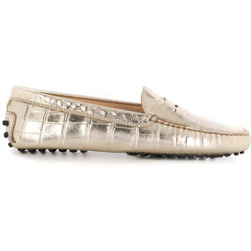 Tod's Loafer mit Metallic-Effekt