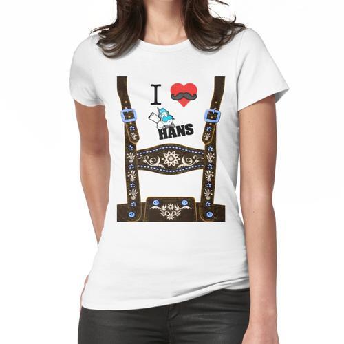 Lederhosen - Braun Frauen T-Shirt
