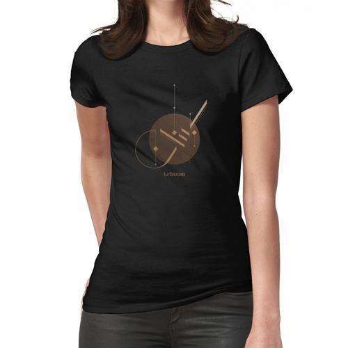 Libanon Libanon Frauen T-Shirt