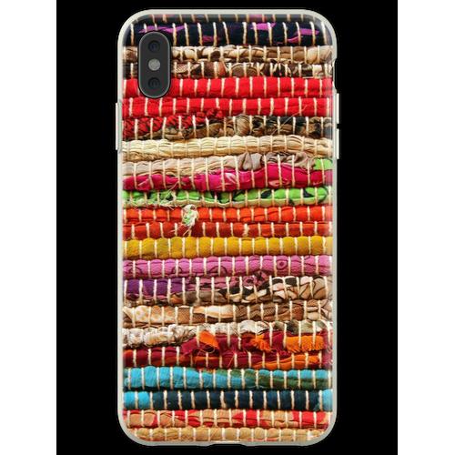 Textildruck Flexible Hülle für iPhone XS Max