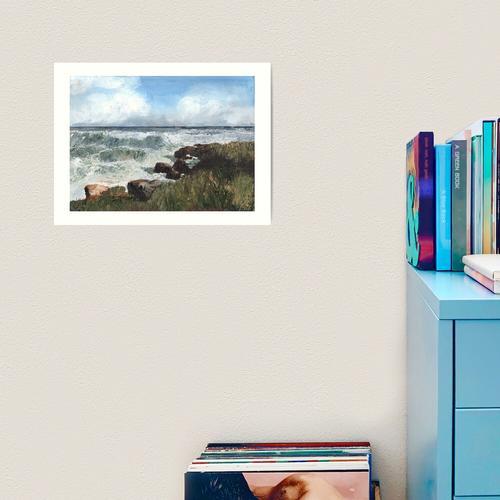 Das Meer bei Kingsbarns Kunstdruck