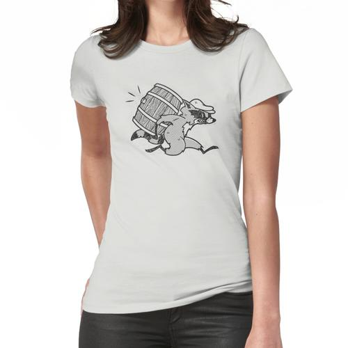 Der Whisky Smuggler - Vintage Cartoon 80er Frauen T-Shirt