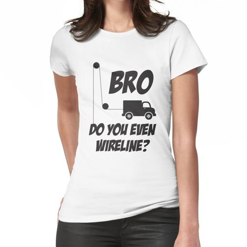 Drahtgebundener Bro Black Frauen T-Shirt