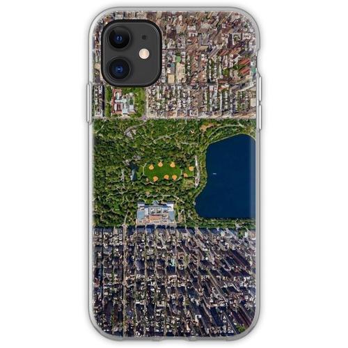 Luftbild von New York Flexible Hülle für iPhone 11
