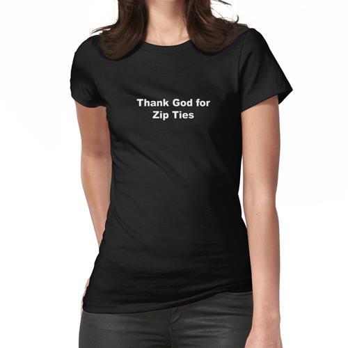 Kabelbinder Frauen T-Shirt