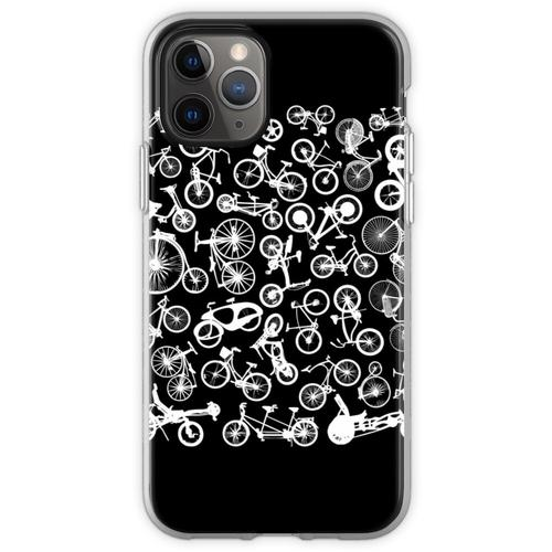 Fahrrad Fahrräder Biker Fahrrad Fahrrad Wahnsinn Flexible Hülle für iPhone 11 Pro