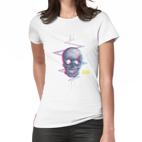 Stereoskopischer Anstieg Frauen T-Shirt
