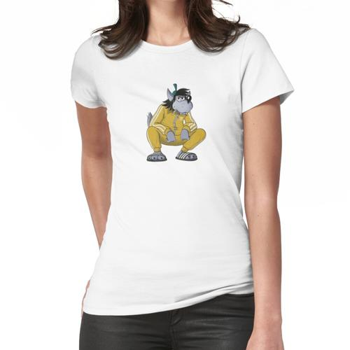 Wahre Sklavin Frauen T-Shirt