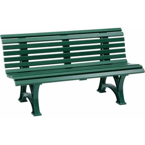 Sitzbank | Kunststoff | Breite 1500 mm | Moosgrün Bank Bank aus Holz\ - Blome