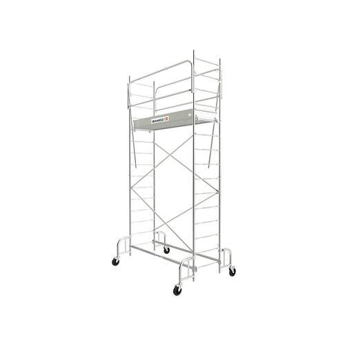 E. Rollgerà¼st aus Stahl selbsttragend - Là¤nge 1;86m
