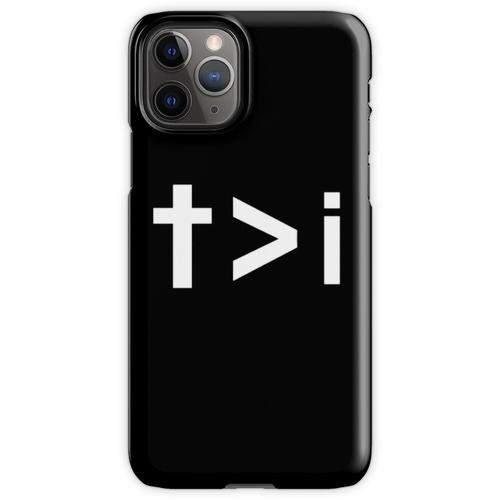 Er muss zunehmen, aber ich muss abnehmen iPhone 11 Pro Handyhülle