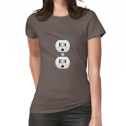 Steckdose Frauen T-Shirt