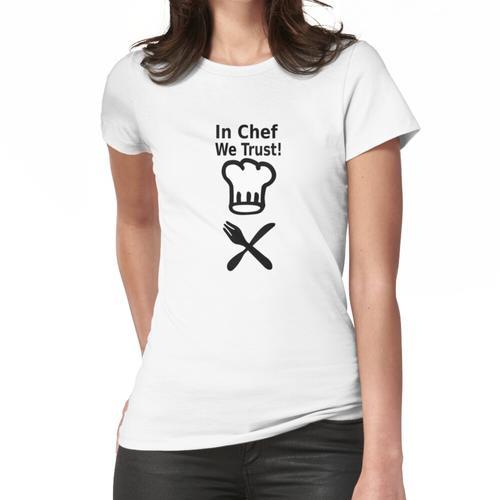 Koch Kochen Design Koch Frauen T-Shirt