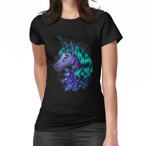 Kristall Einhorn Frauen T-Shirt