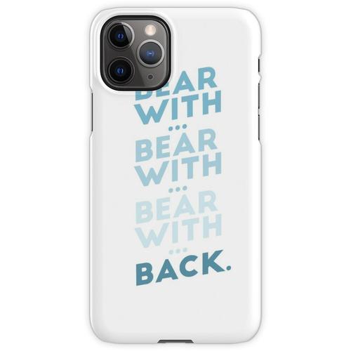 tragen mit ... tragen mit ... v.2 iPhone 11 Pro Handyhülle