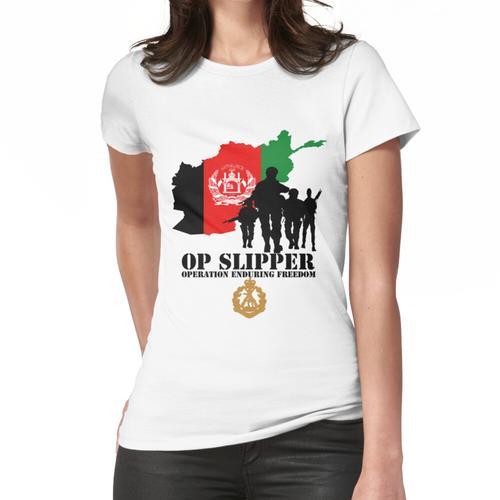Op Slipper Frauen T-Shirt