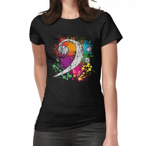 Bassschlüssel - Bass Clef - Bass Key Frauen T-Shirt