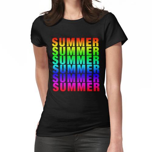 Summer Summer Summer Summer Summer Summer Frauen T-Shirt