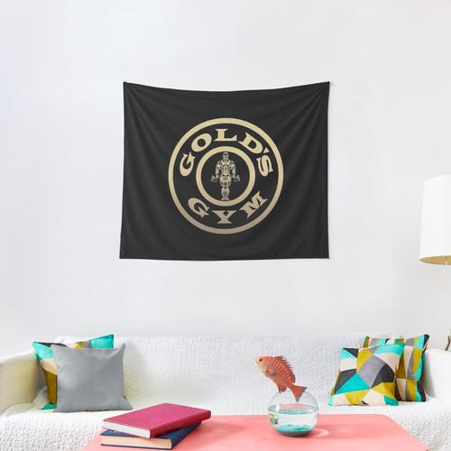Golds Gym Wall Tapestry
