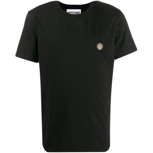 Moschino T-Shirt mit Münzen-Logo