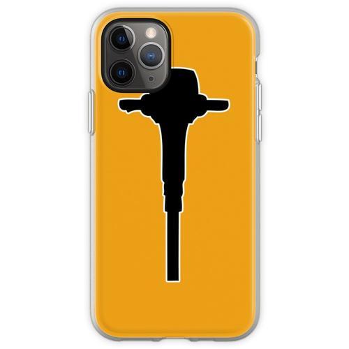 Bohrhammer Bohrhammer Flexible Hülle für iPhone 11 Pro