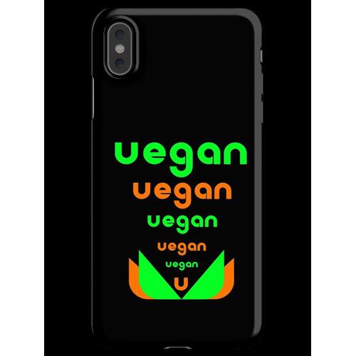 Veganer veganer Veganer iPhone XS Max Handyhülle