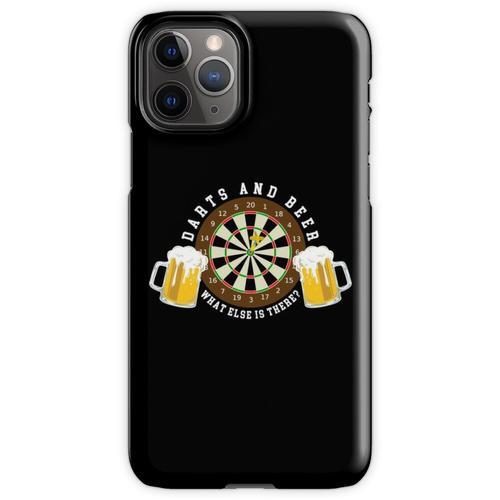 Darts and Beer - Dartscheibe Turnier Sport Spass iPhone 11 Pro Handyhülle