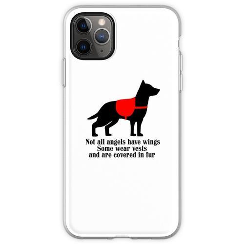 Service-Hundeengel Flexible Hülle für iPhone 11 Pro Max