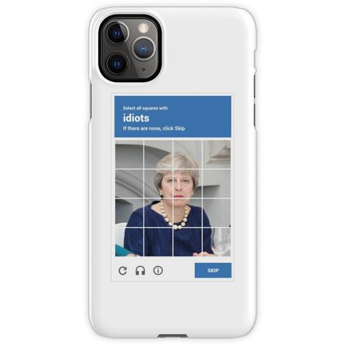 reCAPTCHA - Theresa Mai iPhone 11 Pro Max Handyhülle