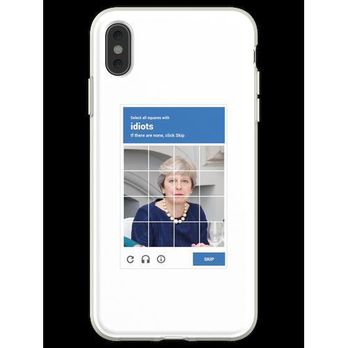 reCAPTCHA - Theresa Mai Flexible Hülle für iPhone XS Max