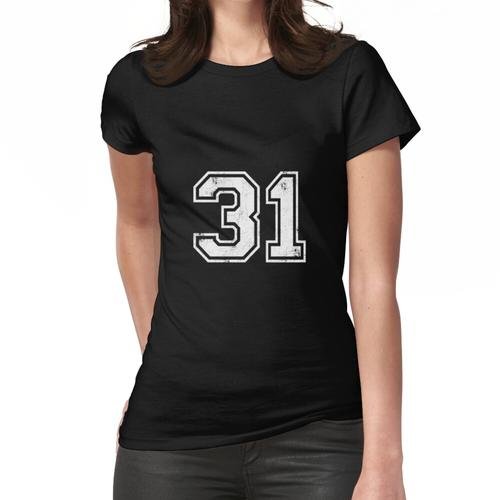 31 TRIKOT Trikots Nummer 31 Trikot Sport Frauen T-Shirt