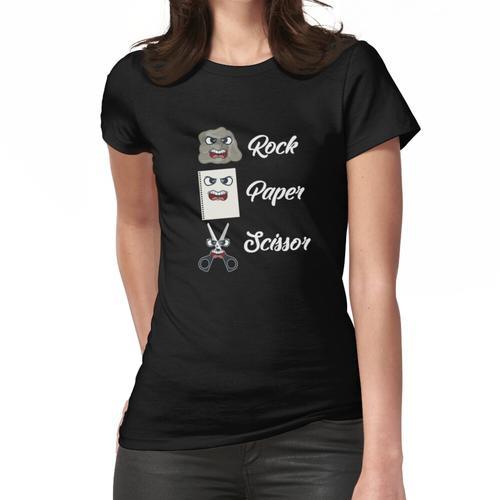 Schere, Stein, Papier Frauen T-Shirt