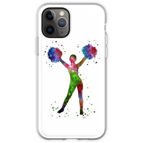 Cheerleader, Cheerleader, Aquarell-Cheerleader Flexible Hülle für iPhone 11 Pro