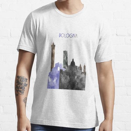 Bologna, Bologna Skyline, Aquarell Bologna Essential T-Shirt