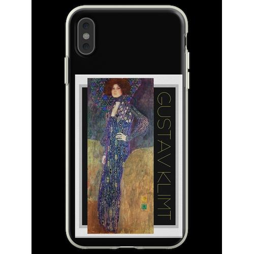 Jugendstil Jugendstil von Gustav Klimt Flexible Hülle für iPhone XS Max