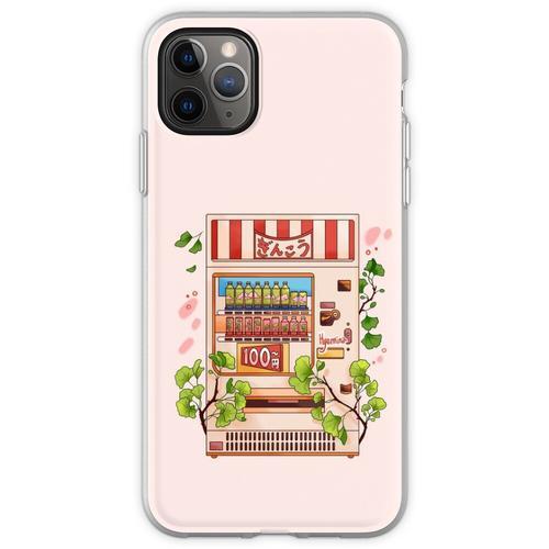 Ginkgo-Getränke Flexible Hülle für iPhone 11 Pro Max