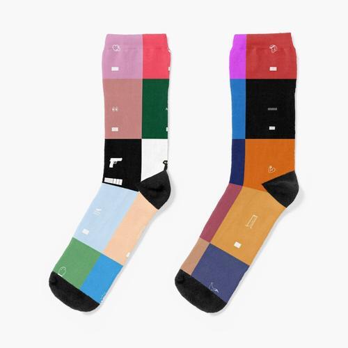 Alben Kunst. Socken