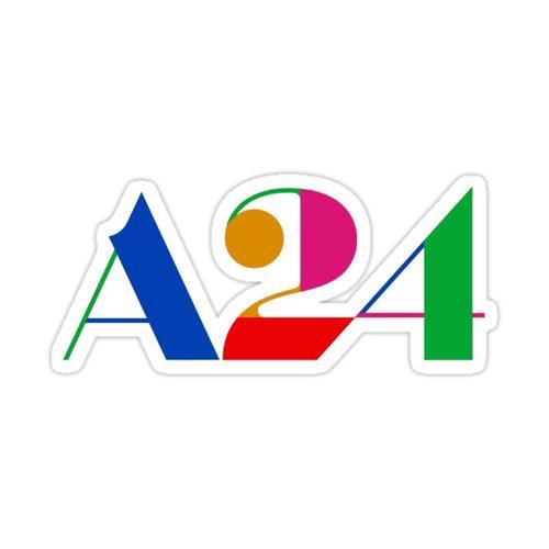 A24 Party Logo Sticker