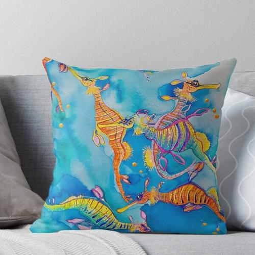 Bremer Bay Throw Pillow