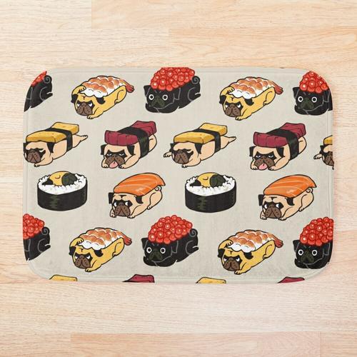Sushi-Mops Badematte