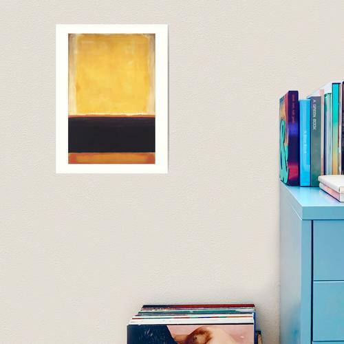 Mark Rothko   Gelb Kunstdruck